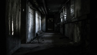 lost places, hallway, abandoned